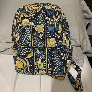 Ellie Blue (Retired) Vera Bradley Medium Backpack